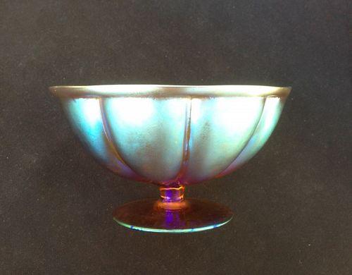 WMF Myra footed bowl, c 1930