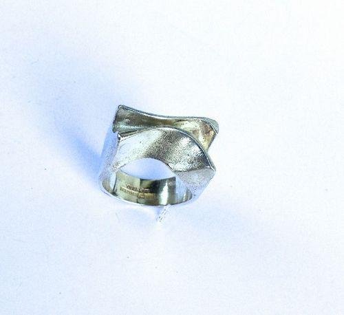 Björn Weckström, Lapponia: silver ring �Sirene�