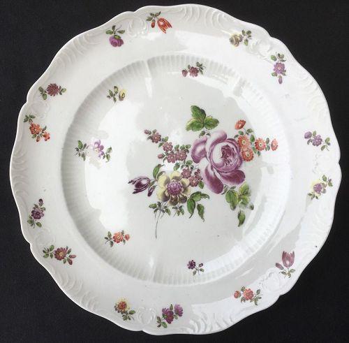 Alt Wien / Old Vienna plate, 18th century