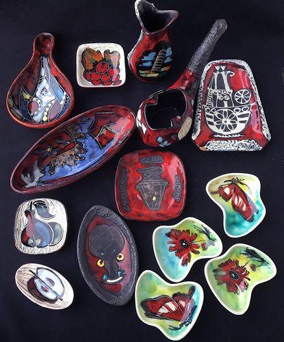 Fat lava, leather-clad & San Marino: Italian modernist pottery: