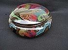 Dutch Gouda lidded bowl, 1920's