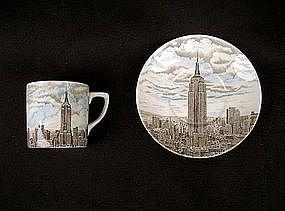 Empire State Building souvenir cup