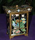 Fine Japanese Cloisonne Enamel Jewelry Chest