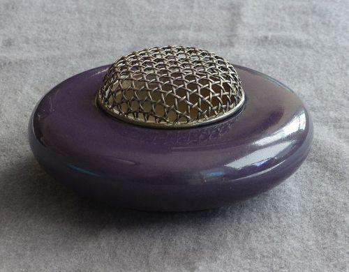 Yabu Meizan Japanese Satsuma Earthenware Censer or Incense Burner  #1