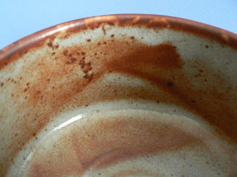 Wonderful Shino Ware Tea Bowl with box