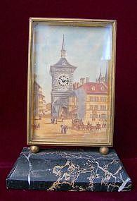 Ivory Table Clock