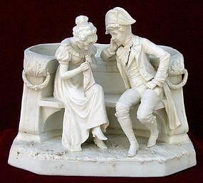 19th Century Biscuit Porcelain Jardiniere