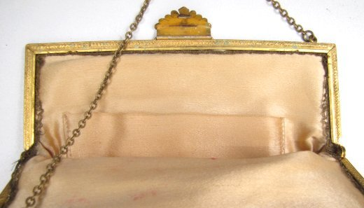 Superb Doubled-Sided Petit Point Purse, Figural
