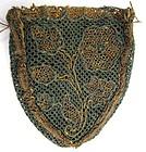 Beautiful 18th C Netted Lace Stitch Purse