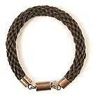 Victorian Hair Bracelet, 12K Clasp