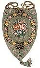 Stunning Antique Beaded Purse  -- Teardrop!
