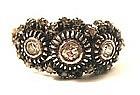 Antique Rose Cut Diamond Miligrain Ring