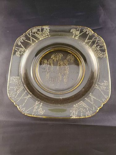Parrot / Sylvan Amber 5 3/4 inch Plate