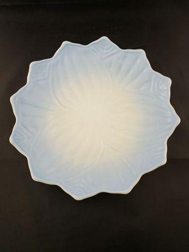 Fire King Blue Lotus Plate