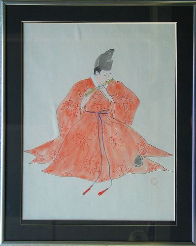 Rare/Fine Water Color Painting by Won Suk Yeon(元錫淵-원석연)(1922-2003