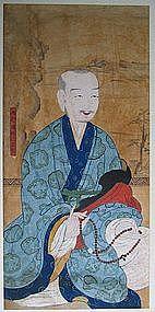 A Portrait of Monk:Moo-Hak((1327-1405)