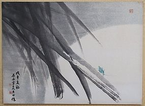 Early Summer Scene Painting by Woel-Jeon, Jang Woo-Sung