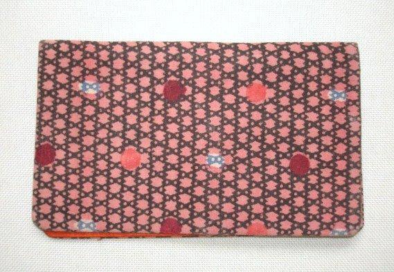 Japanese Antique Textile Okinawa Bingata Card Case
