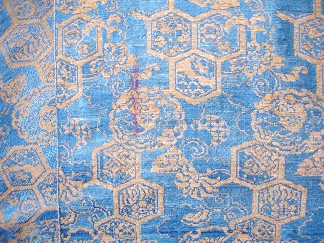 Japanese Antique Textile Silk Brocade Obi Edo