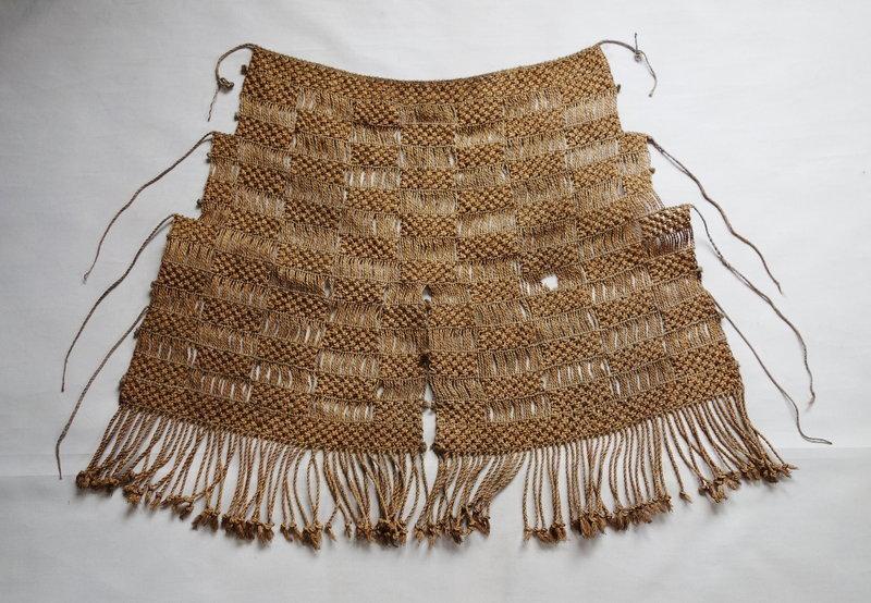 Japanese Vintage Folk Craft Mino Made of Rice Straw