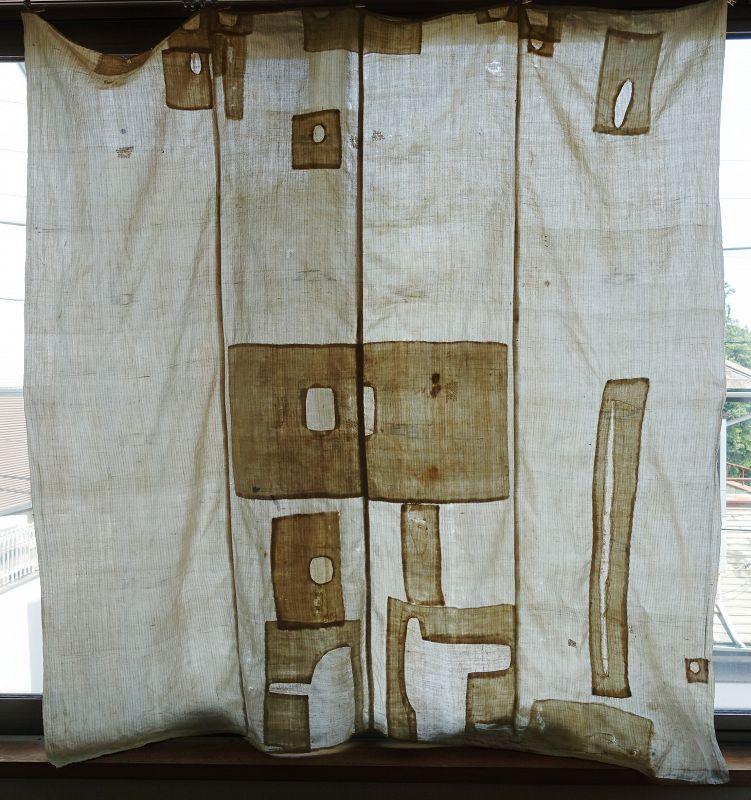Japanese Vintage Textile Boro White Cotton Furoshiki