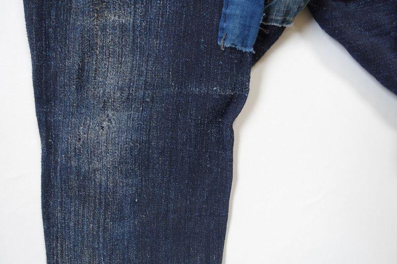 Japanese Antique Textile Boro Asa Noragi Monpe Pants