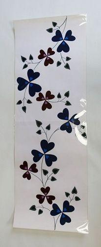 Japanese Vintage Hand-painted Yukata Design Flower