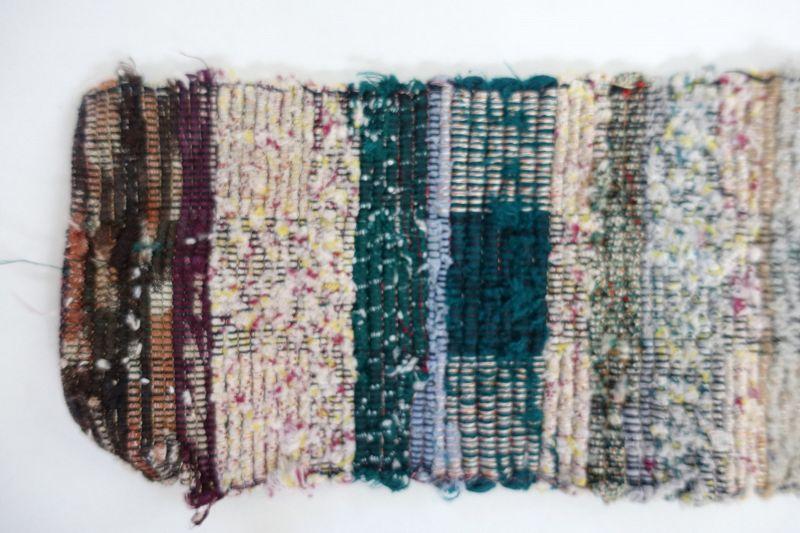 Japanese Vintage Textile Sakiori Obi Sash