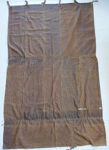 Japanese Vintage Textile Curtain Recycled from Saka-bukuro