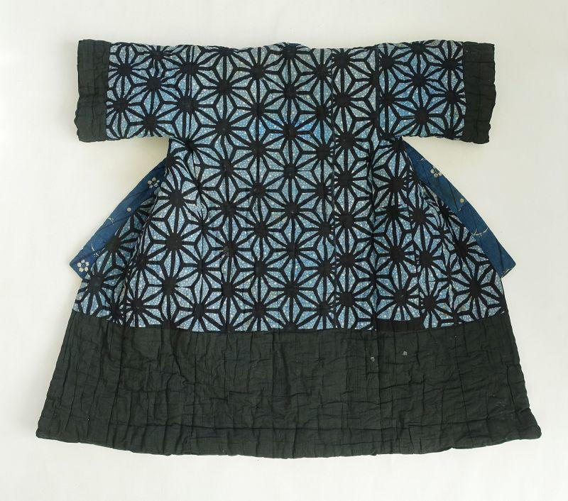 Japanese Vintage Textile Cotton Baby's Yogi Bedding Top Cover