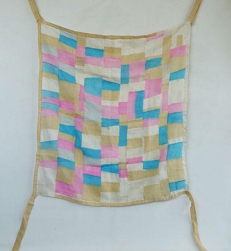 Korean Vintage Textile Pojagi Made of Choma Fragments