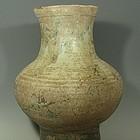 Large Green Chinese Eastern Han Dynasty Hu Jar