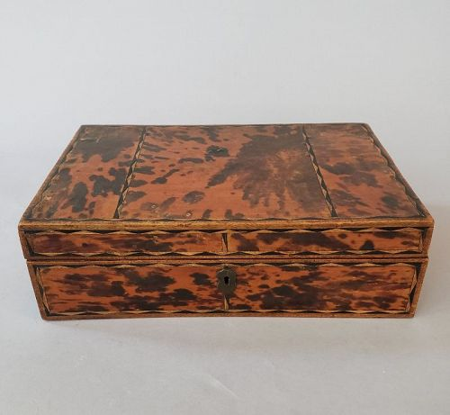 Early 19th Century Tortoise Shell Sewing Box