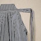 Japanese Black and White Pin Stripe Hakama