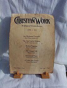 The Christian Work April 5, 1924