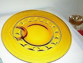 Amber Kings Crown Plate