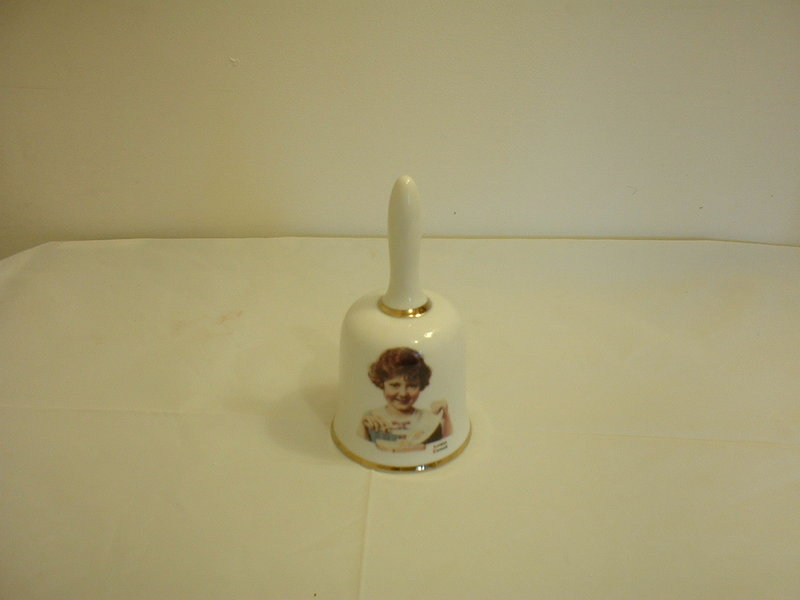 Norman Rockwell 1976 Butter Girl Bell 1st limited ed