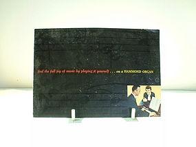 Hammond Organ pamphlet