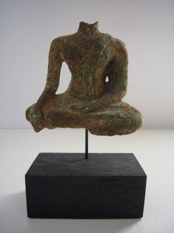 Thai Ayutthaya Bronze Buddha Torso