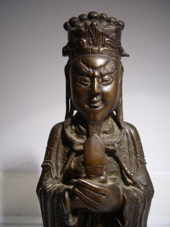 Ming Dynasty Bronze Deity