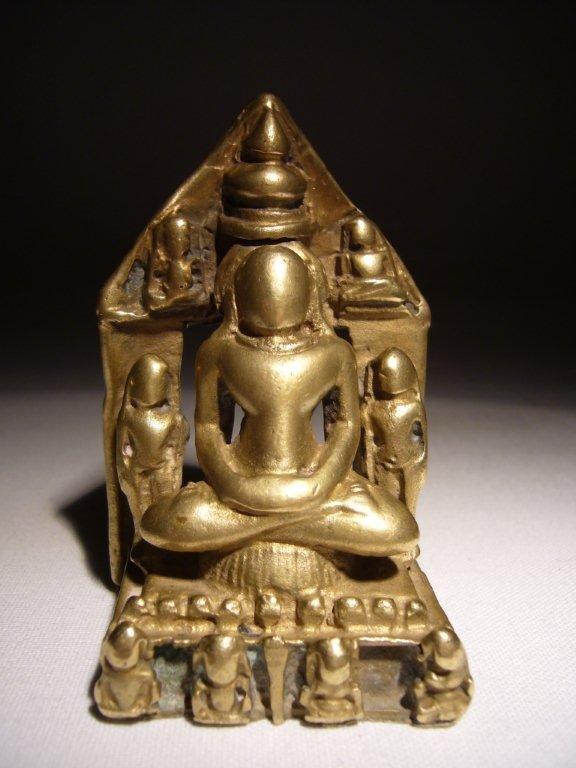 Rare Indian Small Jain Shrine 17th/18th Century