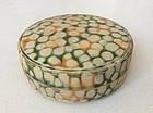 Chinese Tang Dynasty Sancai Pottery Box