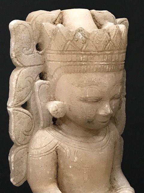 Burmese Alabaster Buddha 18th Century