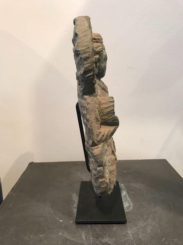 Gandhara Grey Schist Buddha
