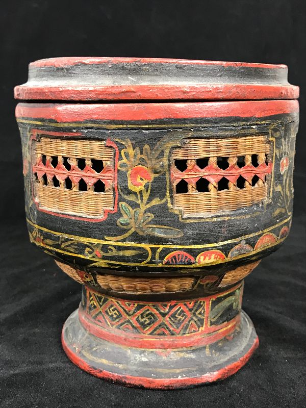 Chinese presentation box, dated 1857