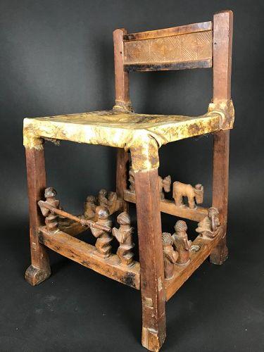 Chair Chokwe/Lwena Angola