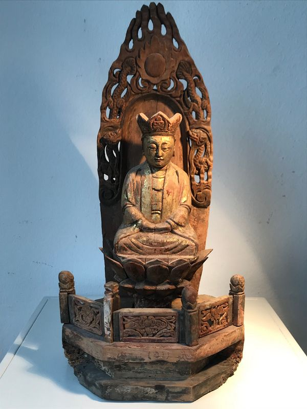 Chinese Altar with Guanyin 18th/19th Century