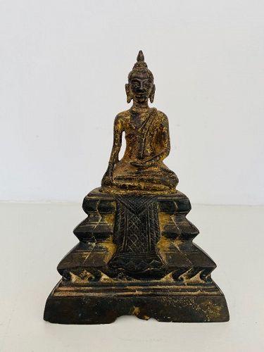 Bronze Buddha, Thailand, 18th Century