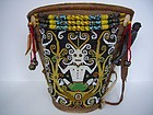 Dayak Baby Carrier from Borneo