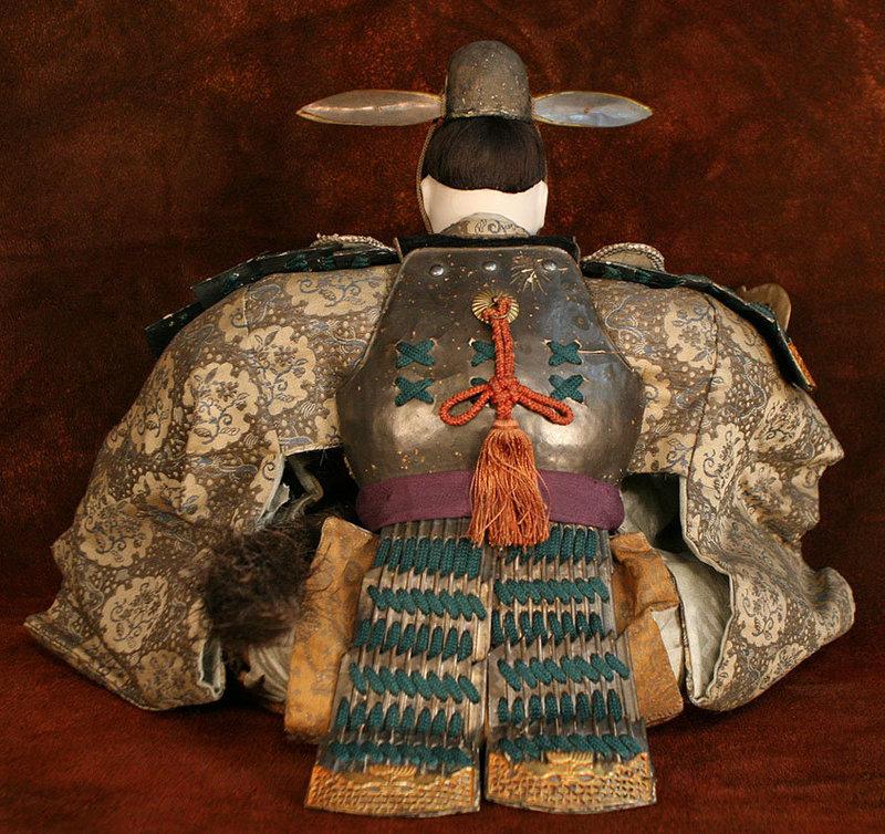 Rare Edo Period Ningyo of Toyotomo Hideyoshi